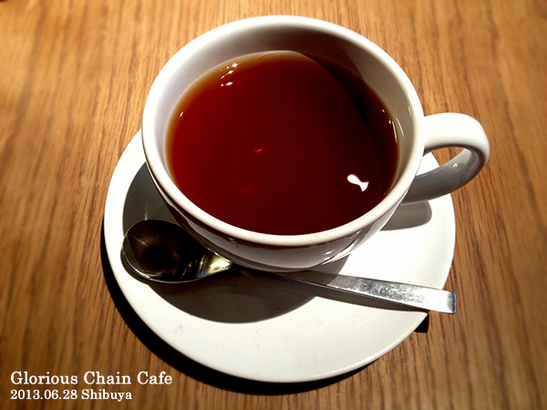 Glorious Chain Cafe ホットティー